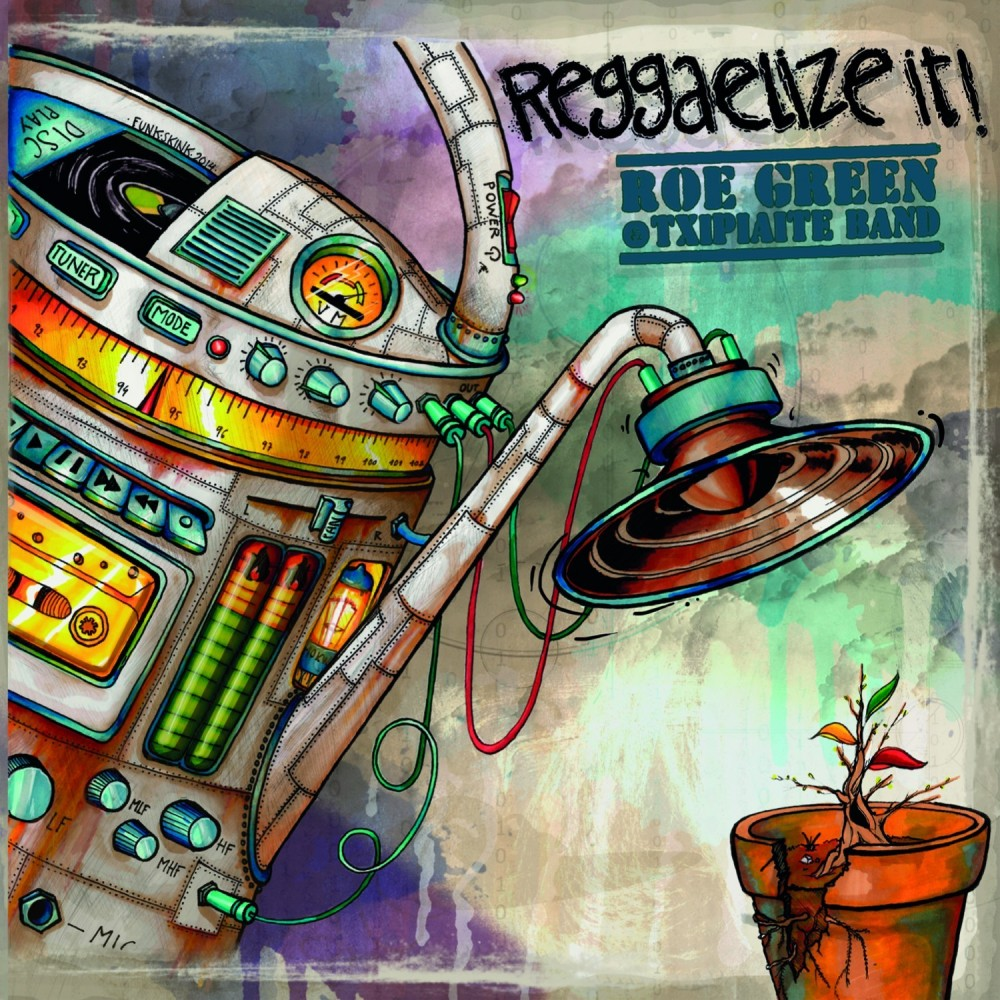 "ROE GREEN - ""REGGAELIZE IT"""