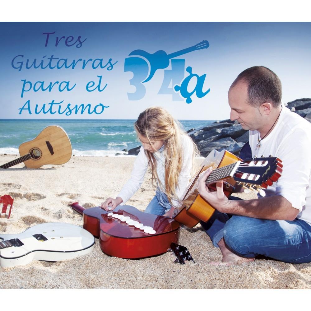 "TRES GUITARRAS - ""Tres guitarras para el autismo""VVAA"