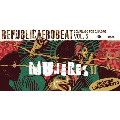 "Publiquem ""Republicafrobeat vol.5 Mujeres 2"""