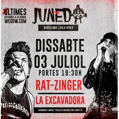 """Aquest dissabte Rat-Zinger presenten """"X Años de sangre y moscas"""""""