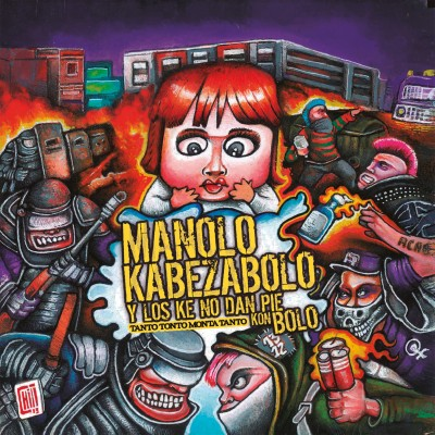 Ya esta a la venta el nuevo álbum de MANOLO KABEZABOLO